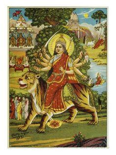 Durga as wild goddess - Google Search