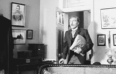 That's my Holmes! He just vaulted a Victorian couch, you HAVE to give Holmes points for that!