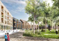 Urban Skärvet Neighborhood Will Have a Lush Park at its Heart in Sweden