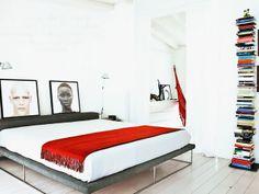 Arkpad bedrooms  Interesting bookshelf