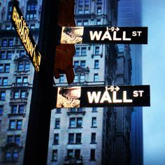 Sign, Wall Street, New York City
