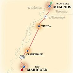 Travel the Delta Blues Highway! My dad grew up in Memphis and I used to live in West Tennessee! Would love to do this!