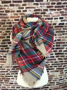 By The Fire Blanket Scarf – URBAN MAX LLC