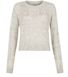 Discover the latest trends with New Look's range of women's, men's and teen fashion. Cable Knit Jumper, Roll Neck Jumpers, Teen Fashion, New Look, Knitwear, Latest Trends, Santa, Sequins, Stone