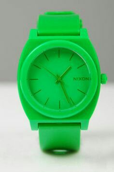 Gorgeous grass green watch from Nixon. 7a0fb60a246