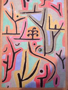 """Paul Klee's """"Spring"""" at the Tate Modern, London. Visit www.tate.org.uk/visit/tate-modern"""