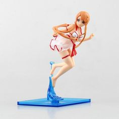 Sword Art online Japanese Anime Kirito Yuuki Asuna Swimsuit Sexy SAO Chara Espada Action Figure Modelo Brinquedo 17cm PVC 0453-in Action & Toy Figures from Toys & Hobbies on Aliexpress.com | Alibaba Group