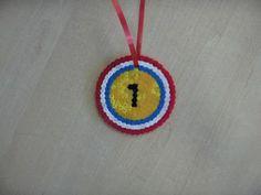 medaille strijkkralen