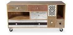 Meuble TV de design vintage Mady
