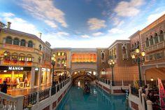 """""""Little Venice"""" in the Venetian Macau casino Macau, Venetian, Venice, Las Vegas, Explore, Architecture, Sands, Arquitetura, Venice Italy"""