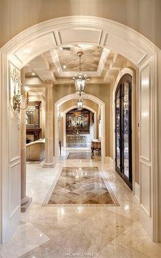 Tuscan design – Mediterranean Home Decor Mansion Interior, Luxury Homes Interior, Luxury Home Decor, Home Interior, Italian Interior Design, Colorful Interior Design, Classic Interior, Flur Design, Home Modern