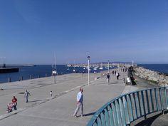 Dun Laoghaire Pier, Dublin Bay