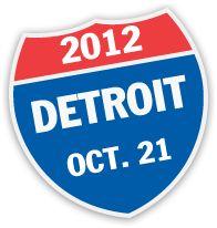 """Detroit Free Press Marathon. The only international marathon. & the only """"underwater mile"""""""