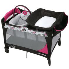 Graco Pack 'n Play Playard With Newborn Napper Station Lx In Sable