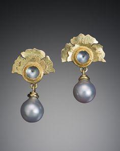 Flower Fan Burma Moonstone Earring – Tracy Johnson Fine Jewelry