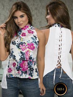 Blusa Moda Colombiana Thaxx - Ref. 119 -3315-1 Morado