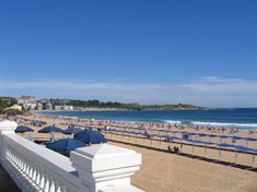 Cantabria has some of the best beaches in the whole of Spain. From Santander's urban ones to the more rural Costa Trasmiera, take your pick. Santander Spain, Places Ive Been, Places To Go, Spanish Holidays, Valence, Madrid, Basque Country, What A Wonderful World, Hiking Trails