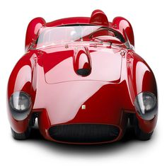 ralph lauren's classic car collection. red..