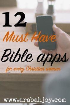 Fill those little pockets of time diving into God's word with these 12 fabulous Bible apps