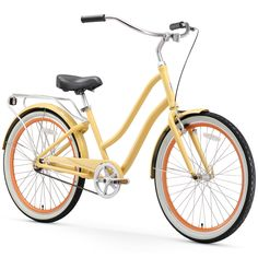 sixthreezero EVRYjourney Women s Step-Through Hybrid Cruiser Bicycle  (24-Inch and 26- 32ed4377f