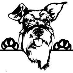 Scott Terrier, Schnauzer Art, Image Svg, Dog Silhouette, Smiling Dogs, Animal Logo, Pyrography, Dog Art, Dogs And Puppies