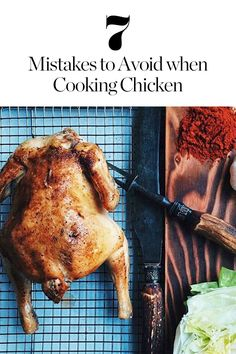 Check out these top tips on avoiding some common chicken-cooking mistakes.
