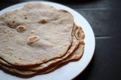 Tortillas mexicaines (à base de blé)