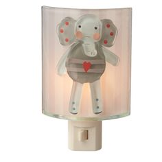 Elephant Night Light for bedroom or bath available @ CountryPorch.com