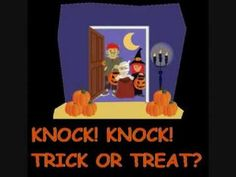 knock knock trick or treat (2) by Irene