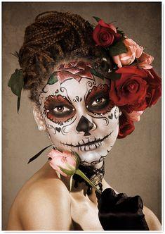 Catrina : make-up & tattoos