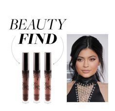 """Beauty Find: Kylie Jenner Lip Kit"" by polyvore-editorial ❤ liked on Polyvore featuring косметика и beautyfind"