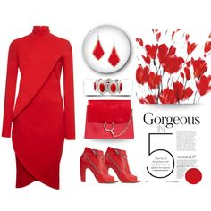 How To Wear Red's your colour Outfit Idea 2017 - Fashion Trends Ready To Wear For Plus Size, Curvy Women Over 20, 30, 40, 50