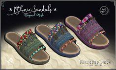 - FACTORY LIES GROUP -: Ethnic Sandals - Sweet Lies Original