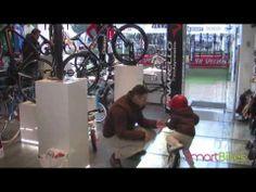 SmartTrial 12- a balance bike and a pedal bike.