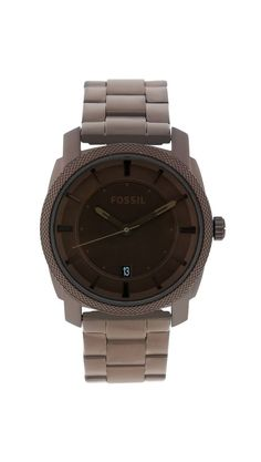 Fossil Men's Brown Stainless Steel Watch.