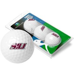Southern Illinois Salukis-3 Golf Ball Sleeve