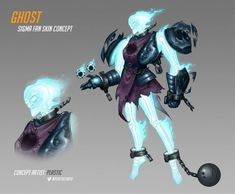 I wish this was a Sigma Skin. Character Concept, Character Art, Concept Art, Overwatch Skin Concepts, Overwatch Doomfist, Cyber Ninja, Junkrat And Roadhog, Halloween Creatures, Fantasy Art Landscapes