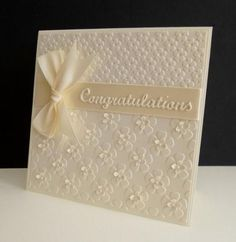 QFTD220 ~ Floral Embossing by sistersandie - Cards and Paper Crafts at Splitcoaststampers