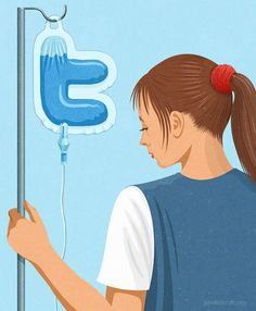 20 Satirical Illustrations Show Our Addiction To Technology