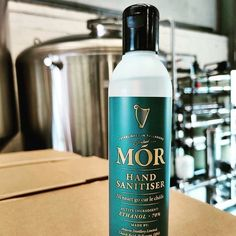 Welcome @moririshgin Hand Sanitiser 👐👏👐👏👐👏 €7 250ml ⏫⏫ link in bio to purchase 🛍️🛒 🇮🇪Made locally by Mor Irish Gin in Tullamore, Co. Offaly. 🇮🇪Mór Hand Sanitiser is made with 70% Ethanol to the World Health Organisation spec, which mean's it's liquid and not a gel. 🇮🇪Fully approved, and regulated biocide PCS Number 100305  #madeinireland #handsanitizer #washyourhands #hands #sanitiser #handsanitiser #irishproduct #irishbrand #shoplocalstocklocal #moririshgin #morhandsanitiser Active Ingredient, Hand Sanitizer, Gin, Irish, Hands, Personal Care, Number, Bottle, Health
