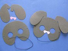 Brown Dog Mask Kit Individual & Home Crafts, Masks,  childrens crafts, kids craft supplies, childrens craft kits