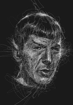 Artist: Vince Low ( Mr Spock )