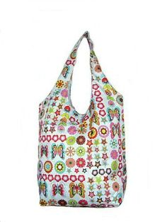 Trendy Sturdy Shopping Tote Bag - Flowers Butterflies Stars Pattern Tapp Collections http://www.amazon.com/dp/B002W5OJXK/ref=cm_sw_r_pi_dp_vT9kub1HPVEFJ