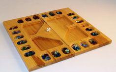 4 Player Mancala Board Game. #boardgames