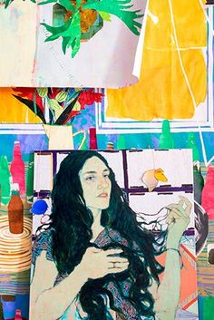 Slideshow:Inside Hope Gangloff's Studio - April 30, 2015 - BLOUIN ARTINFO, The Premier Global Online Destination for Art and Culture | BLOUIN ARTINFO