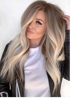 60 Most Popular Ideas For Blonde Ombre Hair Color Hair Hair Beautiful Blends Of Balayage Ombre Hair Hair Color Balayage Balayage Hair Ombre Hair Color