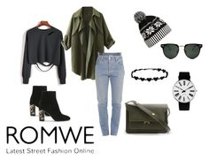 """#romwe contest - win  sweatshirt"" by pegiiisu ❤ liked on Polyvore featuring Vetements, Spitfire, WithChic, Rosendahl and Marni"