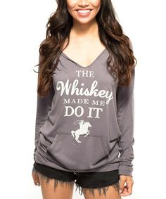 This Deep Felt Green Graphic Scoop Neck Hoodie - Women by Southward Apparel is perfect! #zulilyfinds Style Me, Cool Style, Cowgirl Style, Country Girls, Country Life, Womens Fashion, Fashion Trends, Fashion 2014, Fashion News