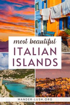 Searching for Italy's best beaches, prettiest fishing villages and most impressive volcanic landscapes? These 16 incredibly beautiful Italian islands and archipelagos all deserve a place on your Italy wish list. #Italy #Sicily #Capri | where to go in Italy | Places to visit in Italy | Italy travel | Italy islands | Italy beaches | travel to Italy | visit Italy Italy Travel Tips, Rome Travel, Travel Abroad, Budget Travel, Travel Ideas, Travel Guide, Best Places To Travel, Cool Places To Visit, Italy Destinations