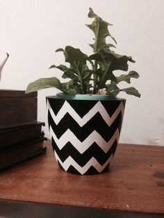 DIY home decor, flower pot